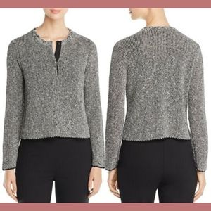 New Eileen Fisher knit cardigan sweater petites